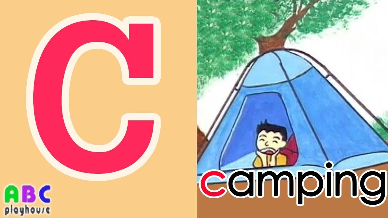 【中英字幕】ABC教學 第6集 Camping|單字A-Z|YOYO|ABC Playhouse|兒童英文教學Learning English For Kids - YouTube