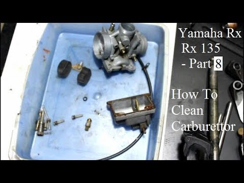 How To Clean Carburettor | Yamaha Restoration Project - Part 8