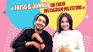 Jannat Zubair Rahmani And Faisal Shaikh Aka Faisu Celebrate Their Instagram Success thumbnail