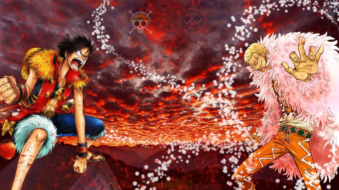 Speedart Luffy Vs Doflamingo One Piece Photoshop