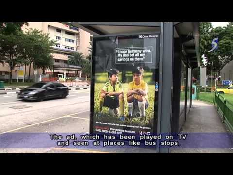 Singapore anti gambling advert falls flat after Germany win - 09Jul2014
