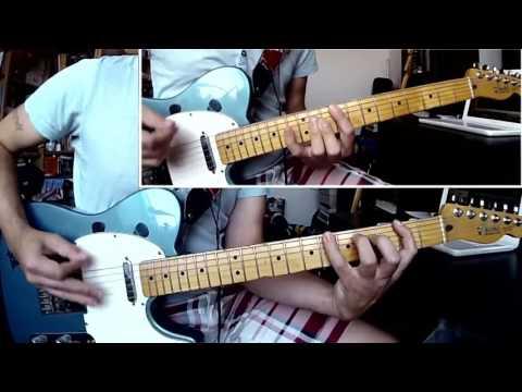 "Status Quo - ""Again And Again"" (Guitar-Cover for Lead-& Rhythmguitar) Rick Parfitt / Francis Rossi"