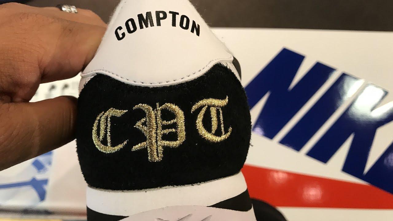 Nike Cortez Compton Sneaker Unboxing