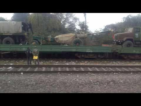Indian Defence Equipment Transportation to J & K