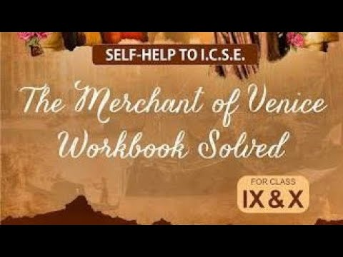 Solved answers of Merchant of Venice