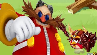Angry Birds Epic - Sonic Dash EGGMAN Boss Golden Pig Castle!