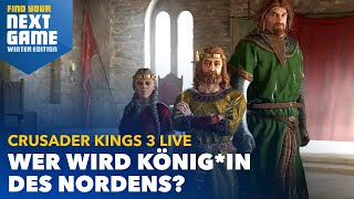 Crusader Kings 3 - Mit Shurjoka, Steinwallen, RBTV, Maurice und Micha | FYNG Winter Edition (Tag 5)