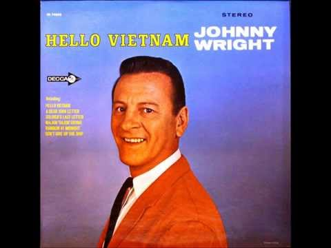 Hello Vietnam , Johnny Wright , 1965 Vinyl
