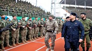 Войска Рамзана Кадырова : Присяга Нашей РОДИНЕ !!!