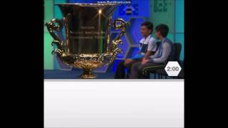 Scripps National Spelling Bee 2016 - Last Few Minutes