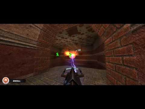 Quakecon Quakeworld 2on2 Frag Video