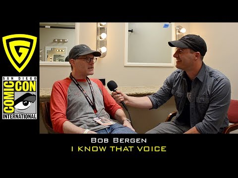 Bob Bergen - I Know That Voice - SDCC 2017 | The Geek Generation