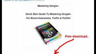 Free and easy steps to make money online - (free ebook download)