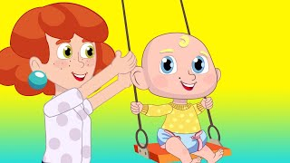 Yes Yes Playgroung Song + More Nursery Rhymes Kids Songs for Children