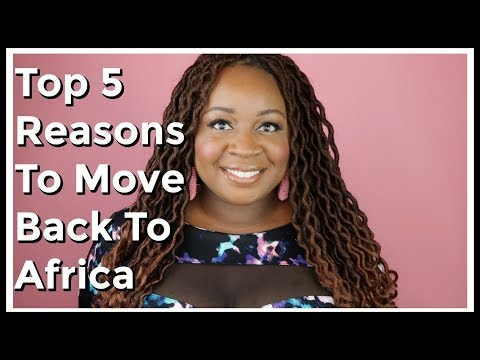 5 Reasons The African Diaspora Is Moving Back To Africa | It's Iveoma