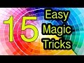 Easy Magic Tricks 15 tricks REVEALED / EXPLAINED