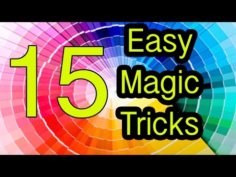 Thumbnail: Easy Magic Tricks 15 tricks REVEALED / EXPLAINED