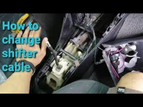 How to replace shifter cable on your car (Kia picanto)paano magpalit ng shifter cable