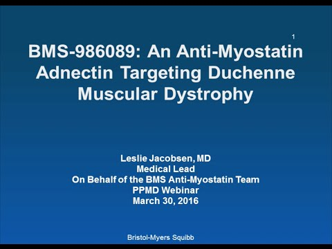 BMS Anti-Myostatin Adnectin Program [March 2016 Webinar]