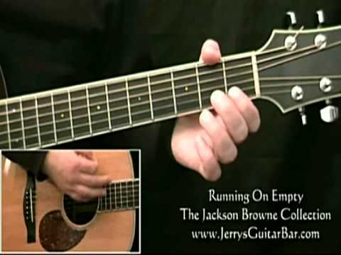 How To Play Jackson Browne Running On Empty Introduction