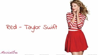red   taylor swift lyrics