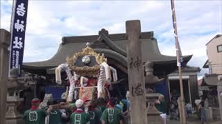 日吉神社本宮 勘兵衛宮入(平成30年10月7日)