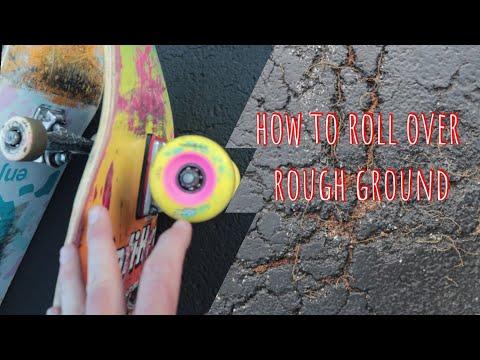 Soft vs Hard Skateboard wheels (roll over anything)