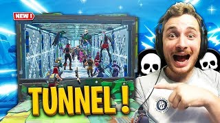 LE TUNNEL DE LA MORT avec CONGÉLEUR sur FORTNITE BATTLE ROYALE