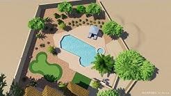Cates Residence - 3d Landscape Design