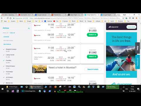 Skyscanner.com.au Vs Makemytrip.com | Cheap Flight Tickets To And From Australia