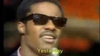 Watch Stevie Wonder Yesterme Yesteryou Yesterday video