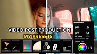 Adobe Premiere Pro CC-Video post production my presets|Видеоурок покраска видео