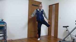 堺っ子体操(元祖歌付き)を踊ってみました(大阪府堺市より)