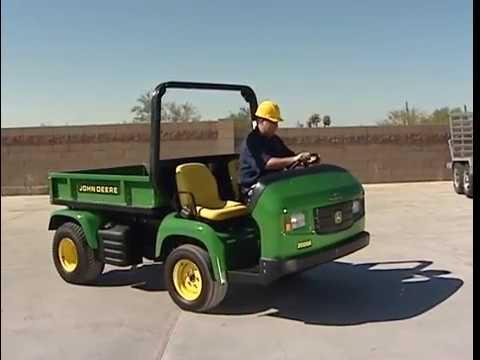 John Deere ProGator Heavy-Duty Utility Vehicle Operator Video on
