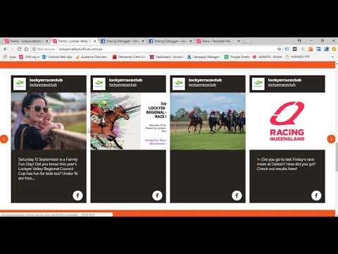 Club Website User Guide :: Racing Queensland
