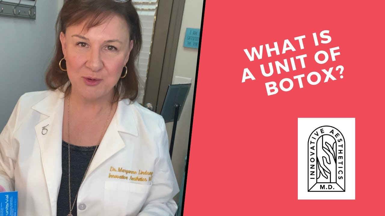 What IS a unit of botox?