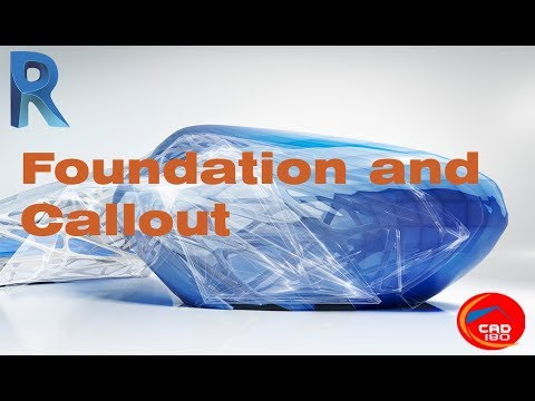 Revit Architecture Foundation and Callout