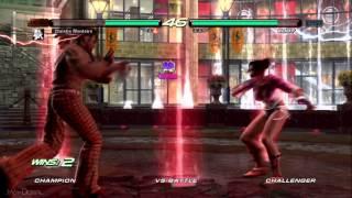 Tekken 6 PSP (PPSSPP) Vs PS3: 1080p HD