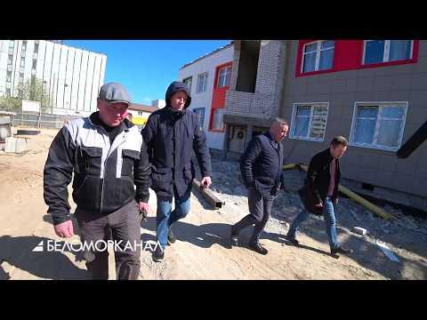 Строительство - по графику 📹 TV29.RU (Северодвинск)