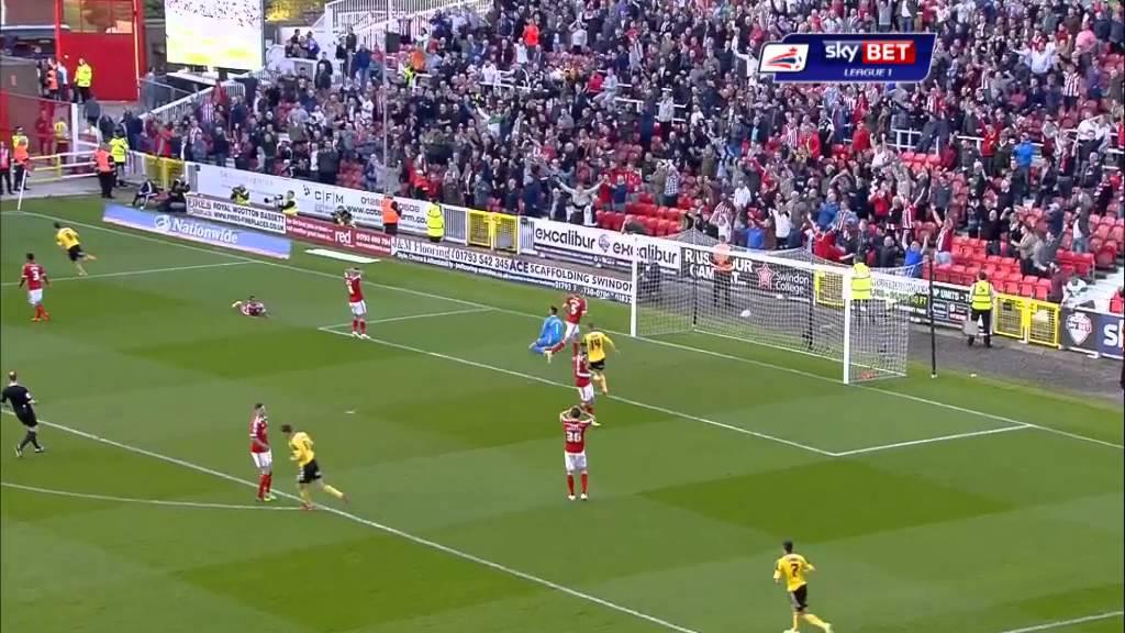 Swindon (7) 5-5 (6) Sheff Utd - Sky Bet League 1 Season 2014-15
