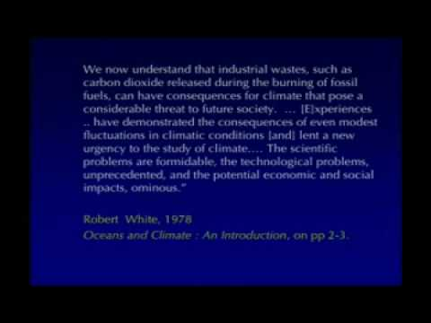 The American Denial of Global Warming - Perspectives on Ocean Science