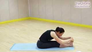 Yoga för alla - Teknik - Sittande framåtfällning & Pinnen/Staven