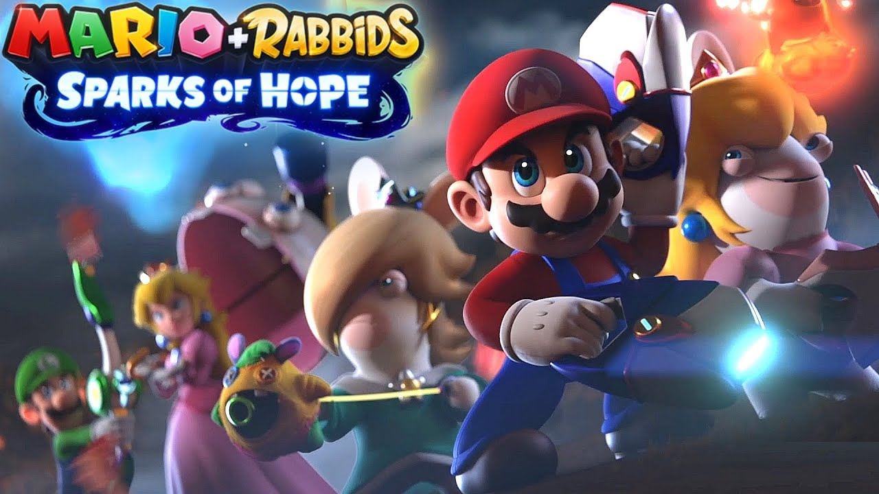 Mario + Rabbids Sparks of Hope Reveal Trailer Nintendo Switch 2021 HD