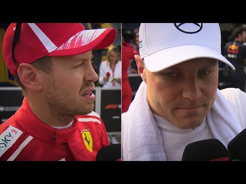 Vettel and Bottas: Both Sides of the Story | 2018 French Grand Prix