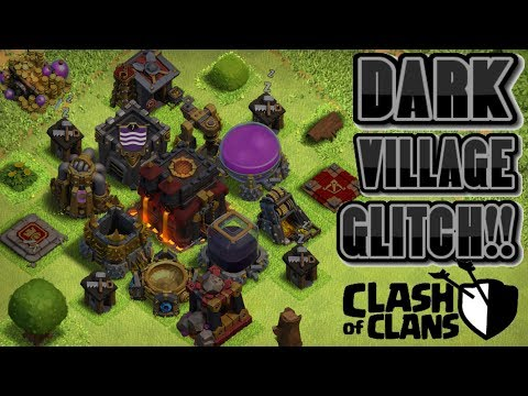 HOW TO GET DARK BUILDINGS AND OBJECTS IN CLASH OF CLANS! | HIDDEN SECRET GLITCH IN CLASH OF CLANS!!