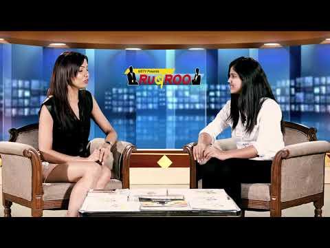 Arjita Grag Alumina of MARWAH STUDIO with Anchor - Sandhya Bhandari