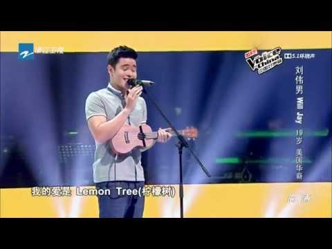 Voice of China Season 4 中国好声音第四季 Will Jay 刘伟男《柠檬树》