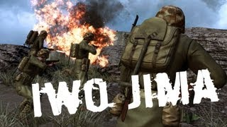 experience rising storm iwo jima hd ultra graphics beta gameplay