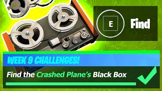 Find the Crashed Plane's Black Box - Fortnite Location