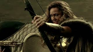 Justice League Snyder Cut Clip: Themyscira with Wonder Woman Soundtrack (Fan-Made)